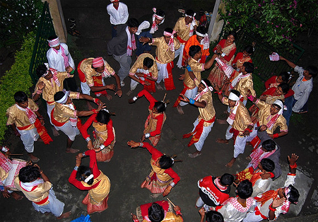 Bohag Bihu Known as Rangoli Bihu