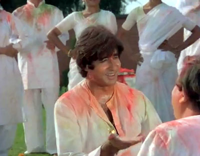 Bollywood celebrates Holi
